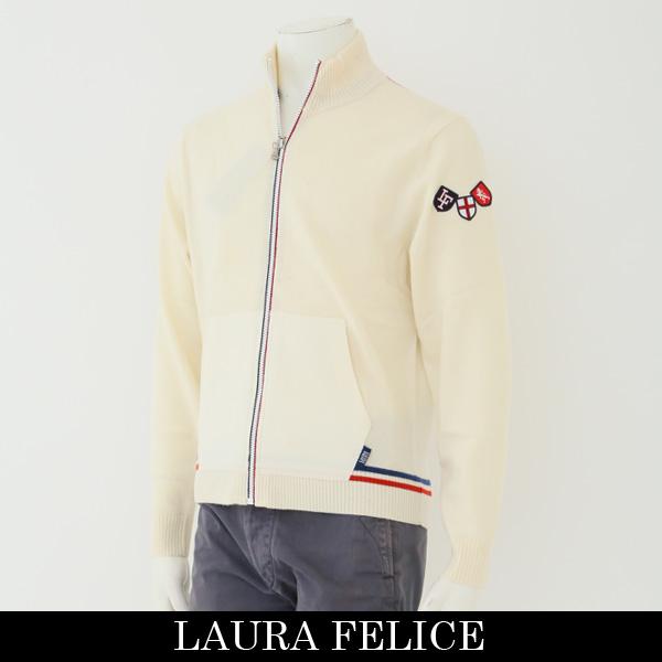 LauraFelice(ラウラフェリーチェ)ジャンバーオフホワイト131 7006 12