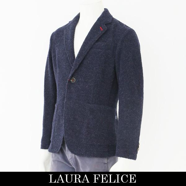 LauraFelice(ラウラフェリーチェ)ジャケットネイビー131 1003 26