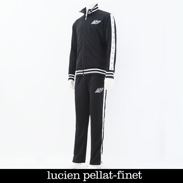 lucien pellat-finet(ルシアンペラフィネ)セットアップブラックYMP583H(63400)/YMP584H(63500)
