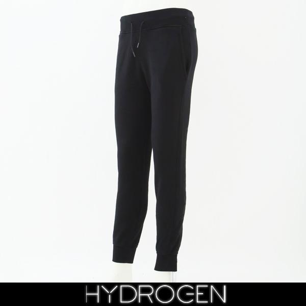 HYDROGEN(ハイドロゲン)スウェットパンツブラック230104