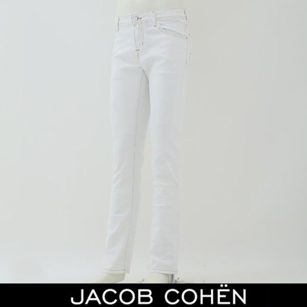 JACOB COHEN(ヤコブコーエン)ストレッチデニムホワイトPW622 COMF 00228W2 12468