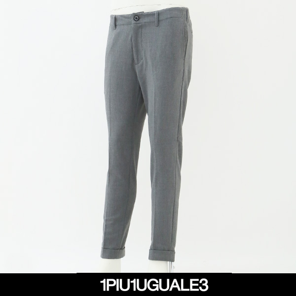 1piu1uguale3(ウノピュウノウグァーレトレ)スラックスグレーMRP285