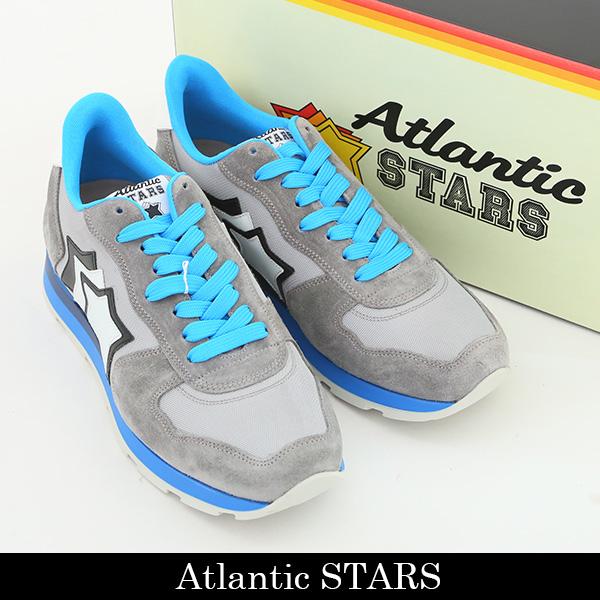 Atlantic STARS(アトランティックスターズ)スニーカーグレーANTARES CSC 83A SILVER