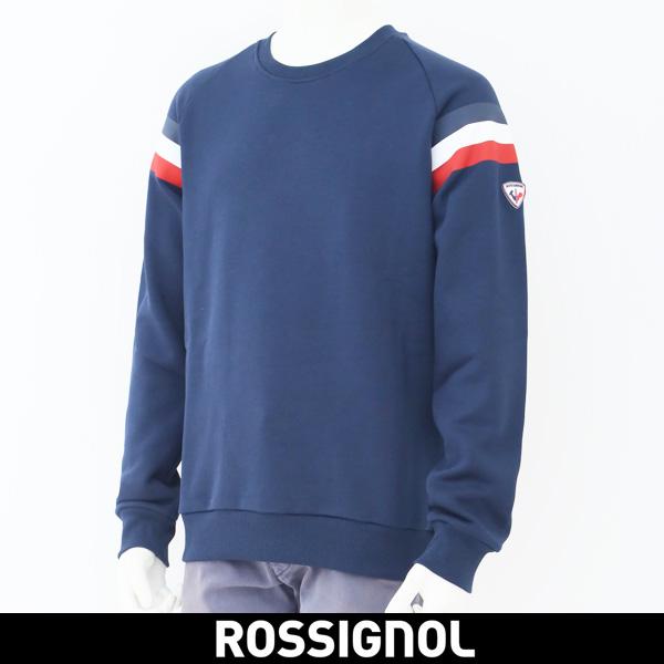 ROSSIGNOL(ロシニョール)【メンズウェア】トレーナー【ネイビー】RLHMS10 8628001