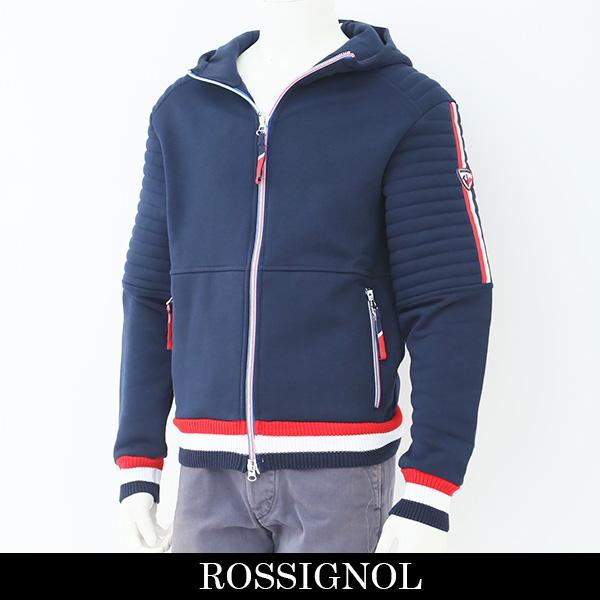 ROSSIGNOL(ロシニョール)【メンズウェア】ジップアップパーカーネイビーPO 55752 8623005