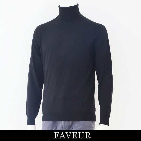 FAVEUR(ファヴール)タートルネックセーターブラック6183 1135
