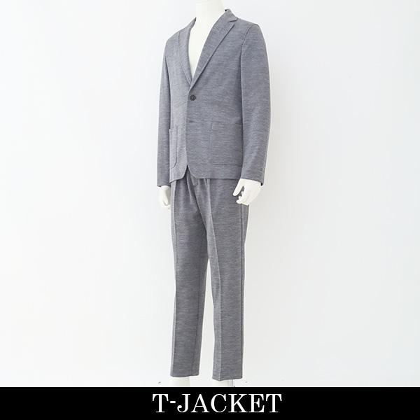 T-JACKET(ティージャケット) メンズスーツ(2つボタン)ライトグレー51BA419J 70329001
