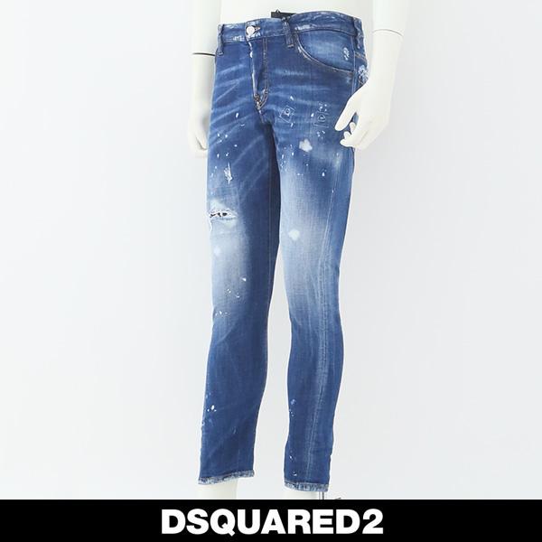DSQUARED2(ディースクエアード)ジーンズSEXY TWIST JEANブリーチS71LB0489