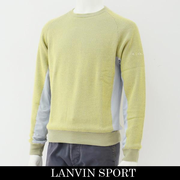 LANVIN SPORT(ランバン スポール)セーターイエロー系VMK4082C3 Y03
