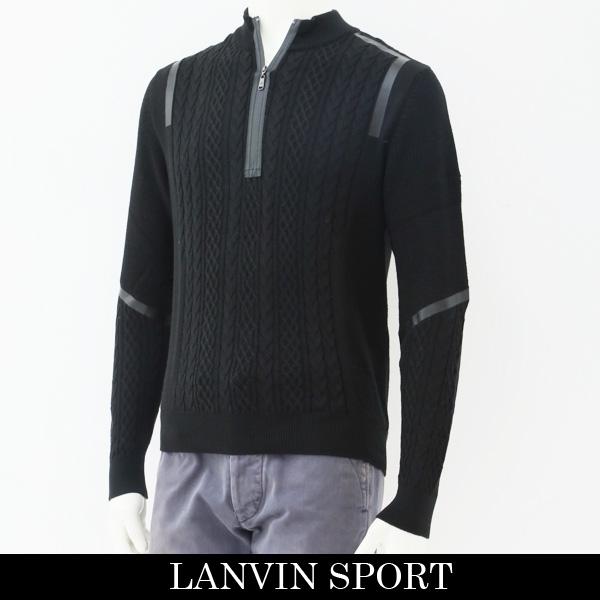 LANVIN SPORT(ランバン スポール)セーターブラックVMK4071C1 N13