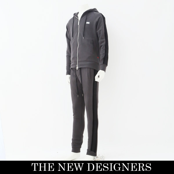 THE NEW DESIGNERS(ニューデザイナーズ)セットアップ (チャコールグレー)5003 BLACKOUT