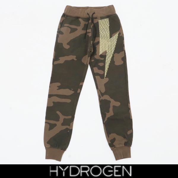 HYDROGEN(ハイドロゲン)レディーススウェットパンツカモフラ柄231121