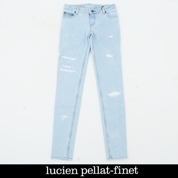 lucien pellat-finet(ルシアンペラフィネ)レディースデニムパンツDE94F