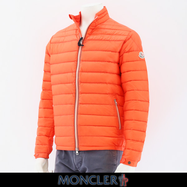 MONCLER(モンクレール)メンズウェアDANIELダウンブルゾンオレンジ