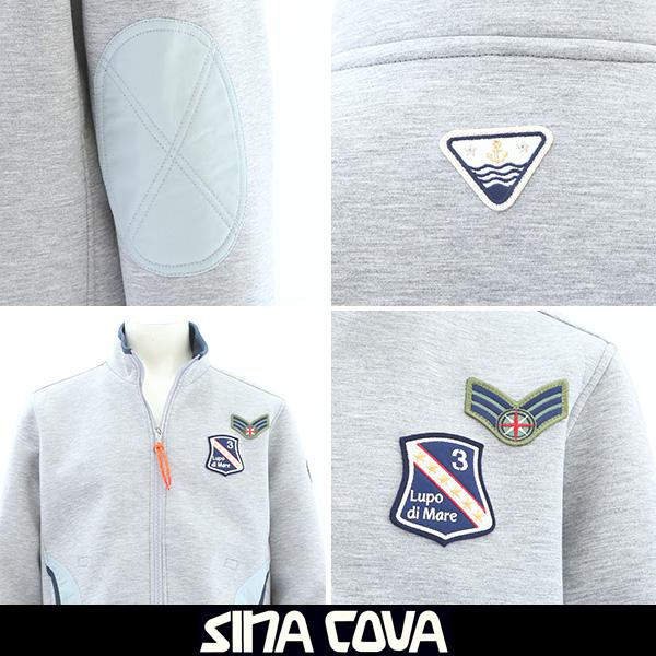 SINA COVA(シナコバ)トラックジャケットグレー18213010 150