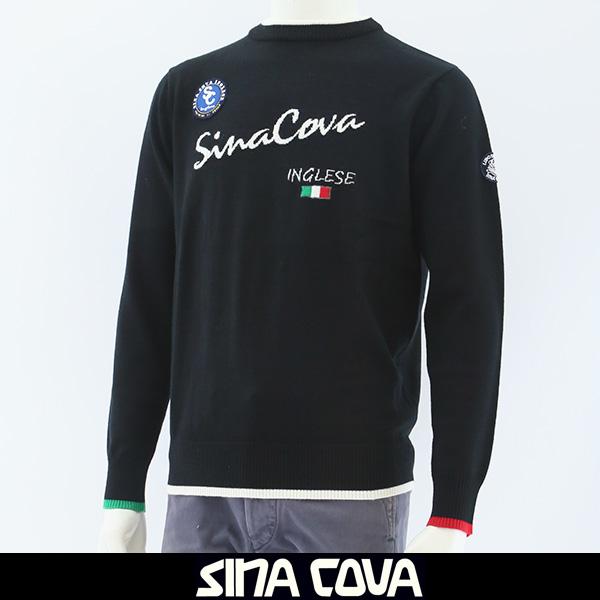 大人気SINA COVA(シナコバ)セーターブラック18252020 190
