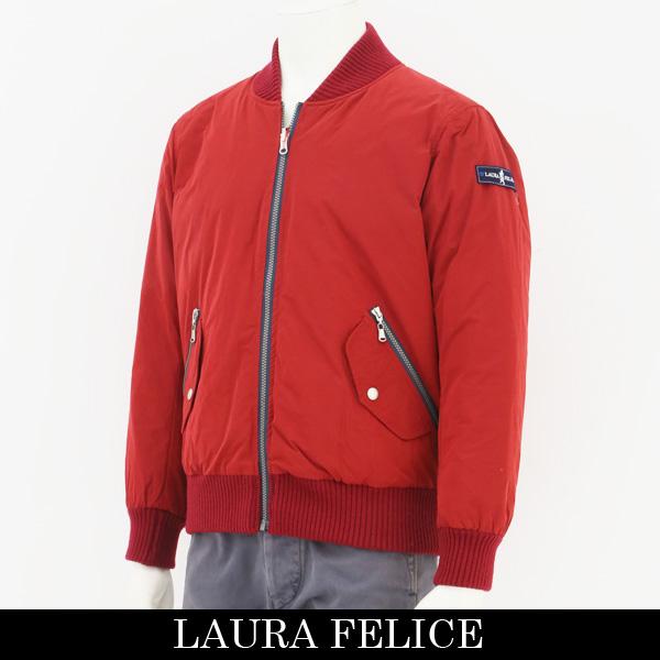 LauraFelice(ラウラフェリーチェ)ダウンジャンバーレッド131 1013 45