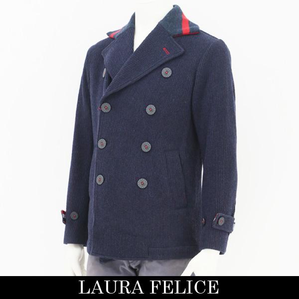 LauraFelice(ラウラフェリーチェ)ピーコートネイビー131 1009