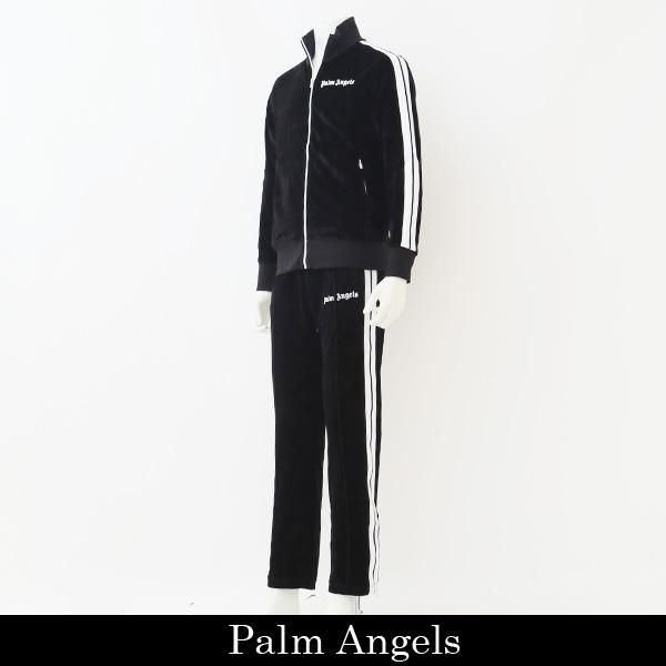 Palm Angels (パーム・エンジェルス)セットアップブラックPMBD001F184690051001/PMCA007F184690051001
