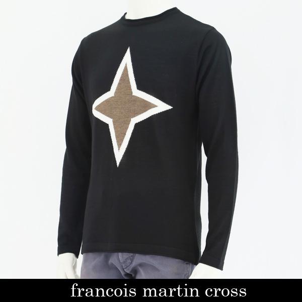 françois martin cross(フランソワマルティンクロス)セーターブラックF-M1