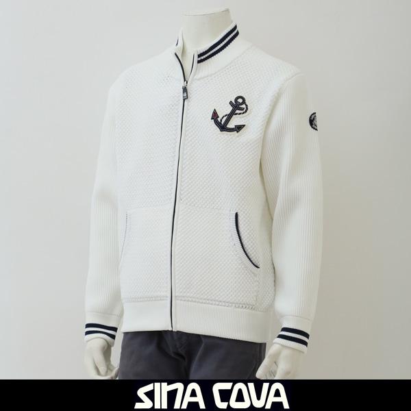 SINA COVA(シナコバ)トラックジャケットホワイト18212010 110