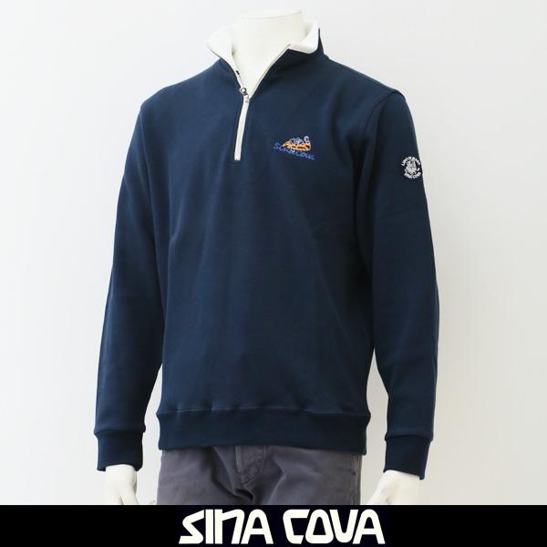 SINA COVA(シナコバ)ジップアッププルオーバーネイビー77820040 290