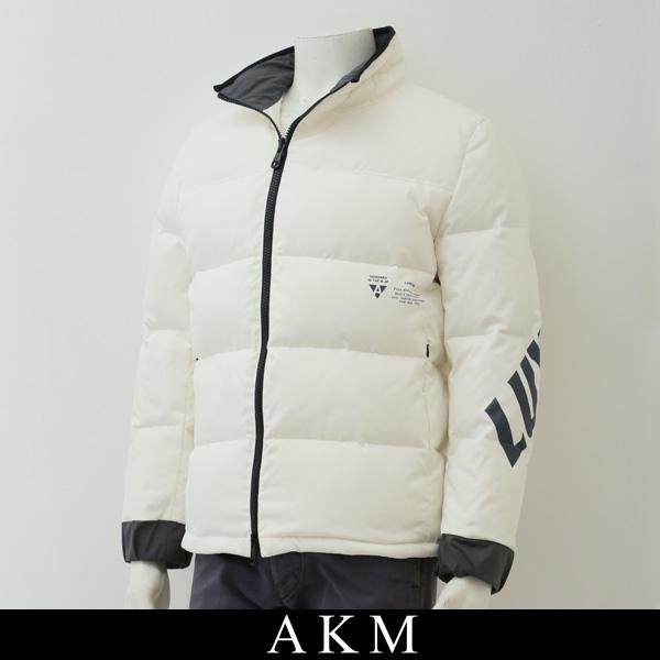 AKM(エイケイエム)ダウンジャンバーホワイトAJ008 PE04