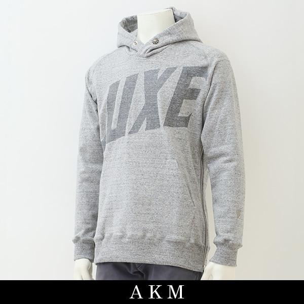 AKM(エイケイエム)プルオーバーパーカーグレーZJ059/CNU079