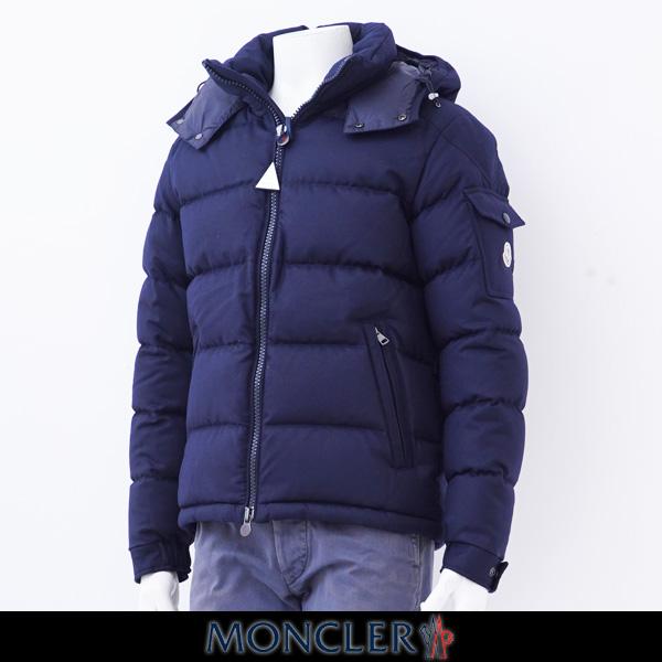 MONCLER(モンクレール)【メンズウェア】MONTGENEVRE モンジュネーブルフード付ダウンブルゾンネイビー
