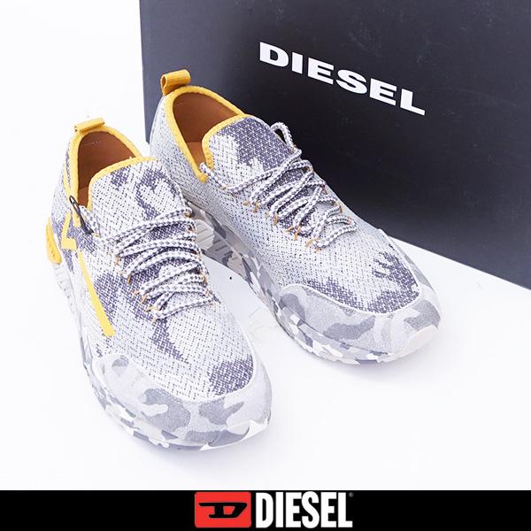 DIESEL(ディーゼル)スニーカーカモフラ柄Y01534 P1623