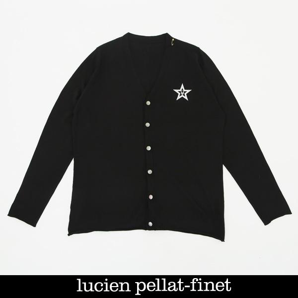 Lucien Pellat-finet(ルシアンペラフィネ)カーディガンブラック213 75600