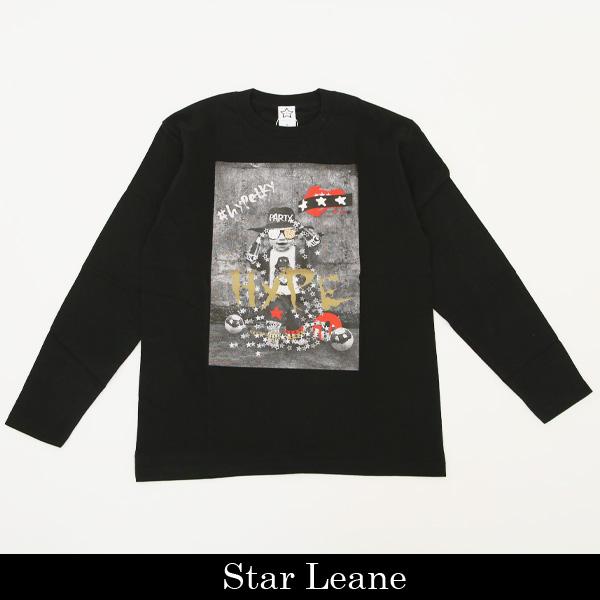 StarLean(スターリアン)ロングTシャツブラックSLW01013C