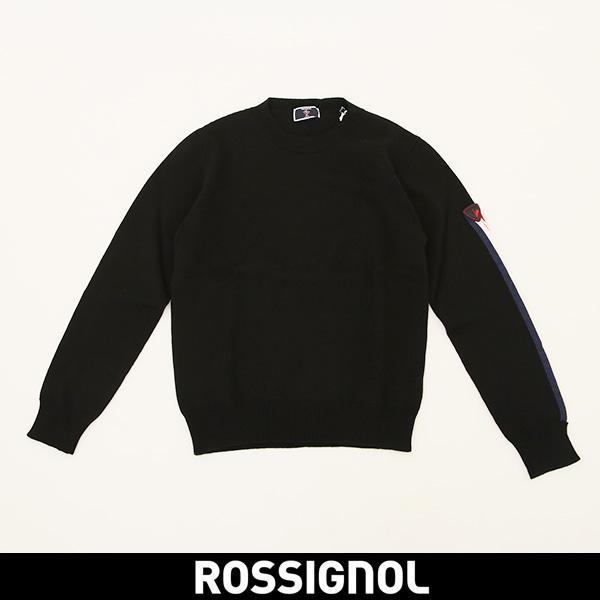 ROSSIGNOL(ロシニョール)【メンズウェア】セーター【ブラック】RLGM006