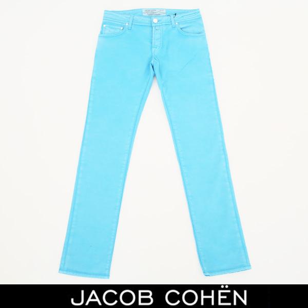 JACOB COHEN(ヤコブコーエン)ストレッチコットンパンツサックス226 52363