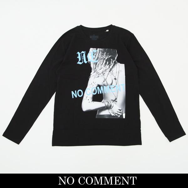 NO COMMENT PARIS(ノーコメントパリ)ロングTシャツ【ブラック】LTN136