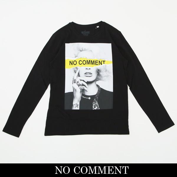 NO COMMENT PARIS(ノーコメントパリ)ロングTシャツ【ブラック】LTN115