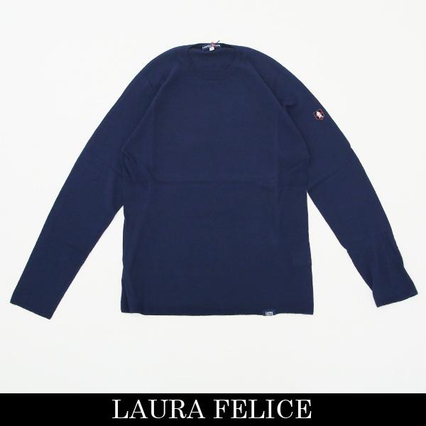 LauraFelice(ラウラ・フェリーチェ)セーターネイビー132 7006 26