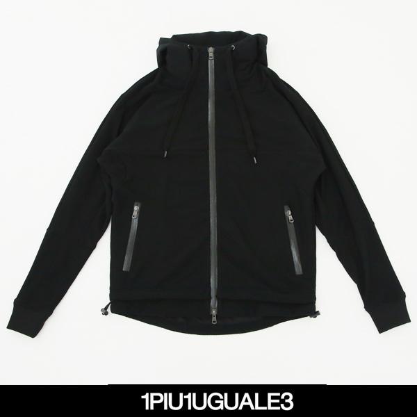 1PIU1UGUALE3(ウノピゥウノウグァーレトレ)ジップアップパーカーTM003 PE02
