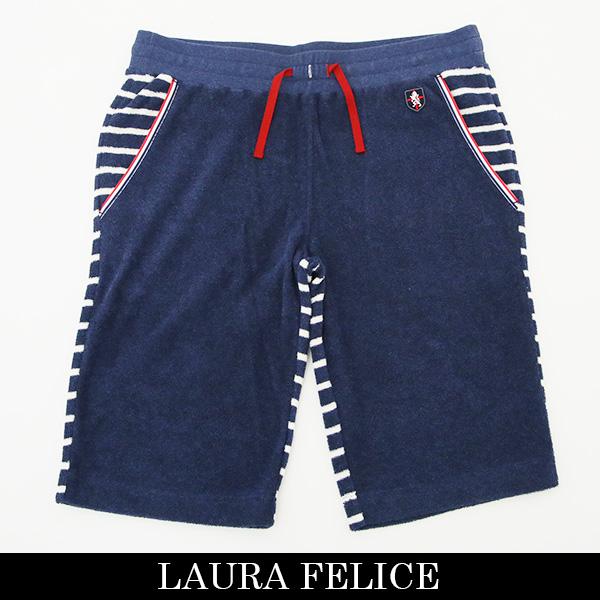 LauraFelice(ラウラ・フェリーチェ)ショートパンツ (ネイビー×ホワイト)132 6052 26