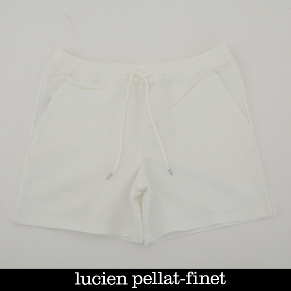 lucien pellat-finet(ルシアンペラフィネ)ショートパンツホワイトYMP636U 72501