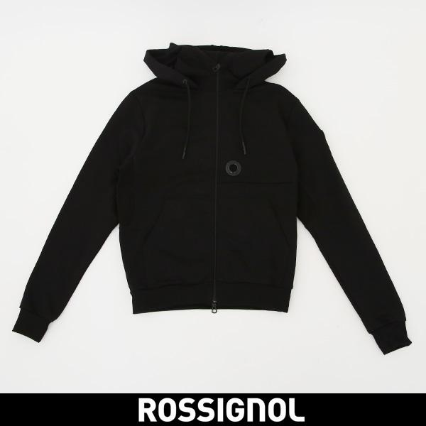 ROSSIGNOL(ロシニョール)【メンズウェア】ジップアップパーカーブラックURV 9523003