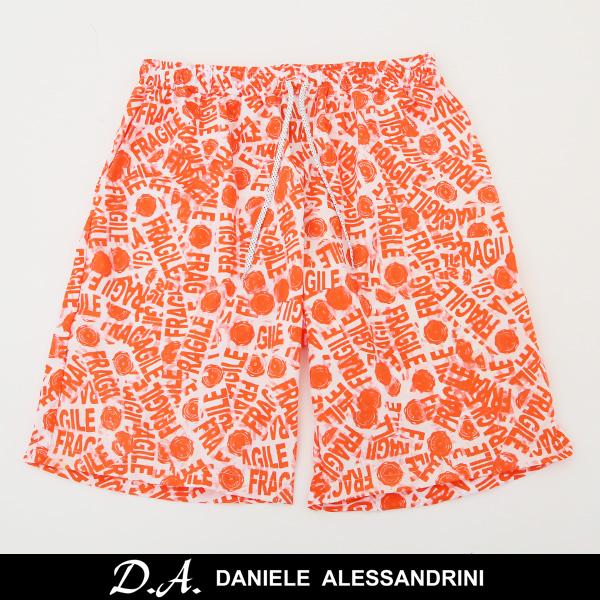 DANIELE ALESSANDRINI(ダニエレ・アレッサンドリーニ)スイムウェアー海パンオレンジ系211 83089001