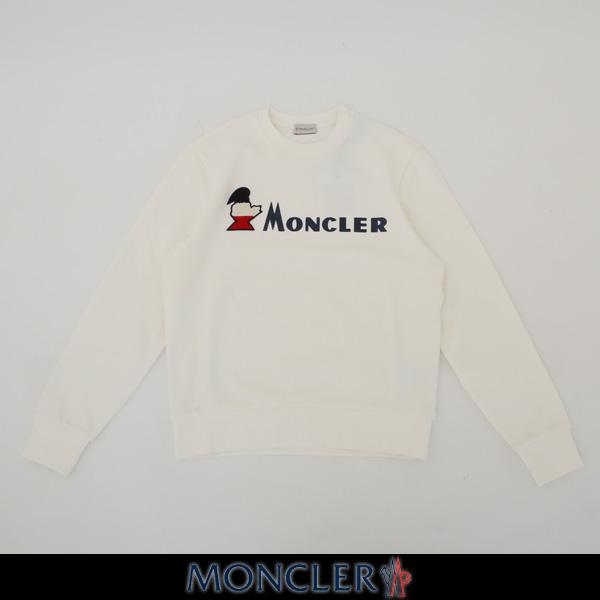 MONCLER(モンクレール)【メンズウェア】トレーナー【ホワイト】E1 091 8041950 8098U