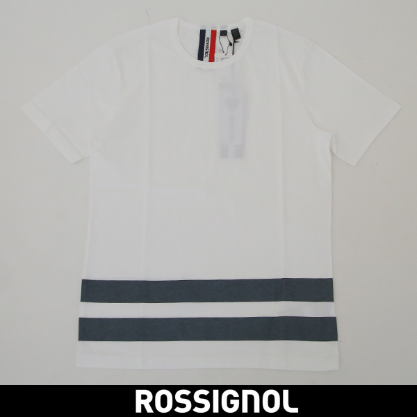 ROSSIGNOL(ロシニョール)【メンズウェア】半袖Tシャツ【ホワイト】URV 9538013