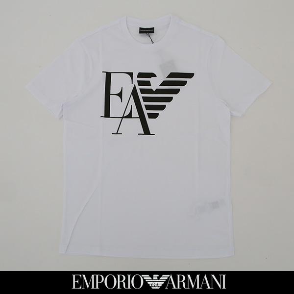 EMPORIO ARMANI(エンポリオ アルマーニ)半袖Tシャツホワイト3G1TA9 1J00Z