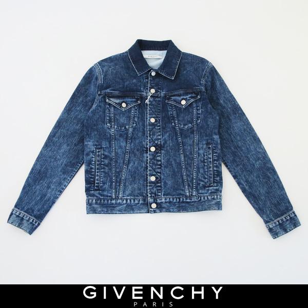 GIVENCHY(ジバンシィ)【メンズウェア】Gジャンデニムジャンバーブルー系BM008C5074400