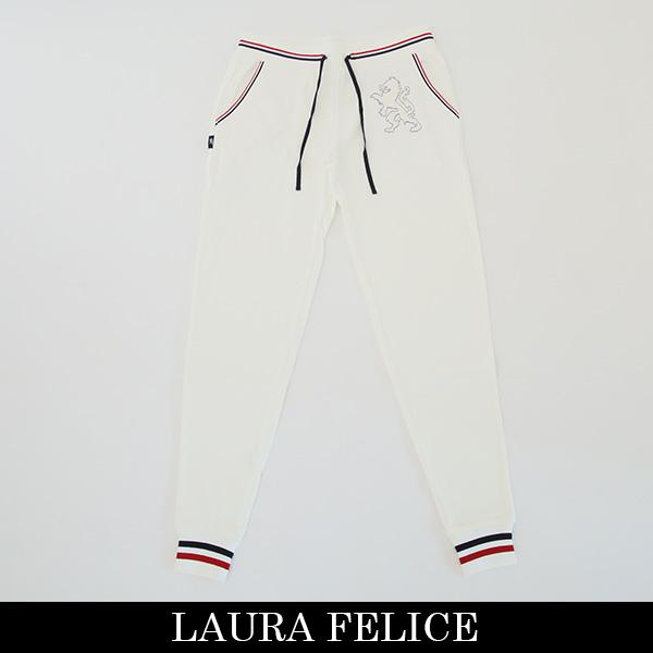 LauraFelice(ラウラフェリーチェ)スウェットパンツホワイト132 6051 11