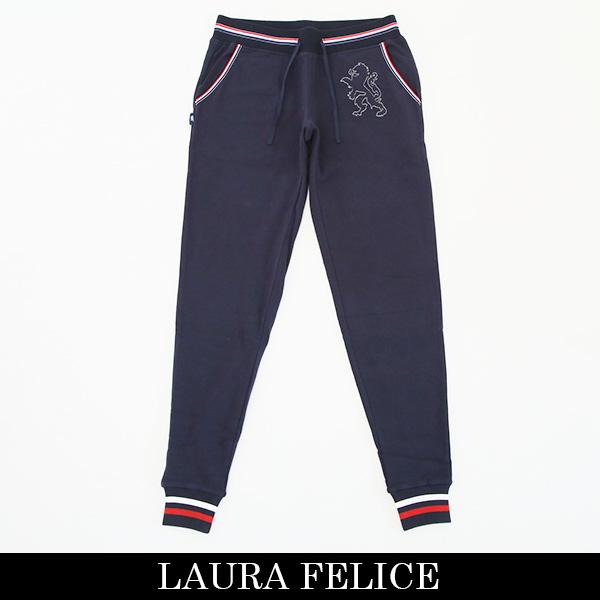 LauraFelice(ラウラフェリーチェ)スウェットパンツネイビー132 6051 27