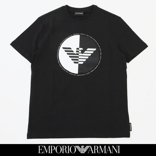 EMPORIO ARMANI(エンポリオ アルマーニ)半袖Tシャツブラック6Z1TF6 1J30Z