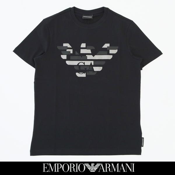 EMPORIO ARMANI(エンポリオ アルマーニ)半袖Tシャツブラック6Z1TF7 1J30Z